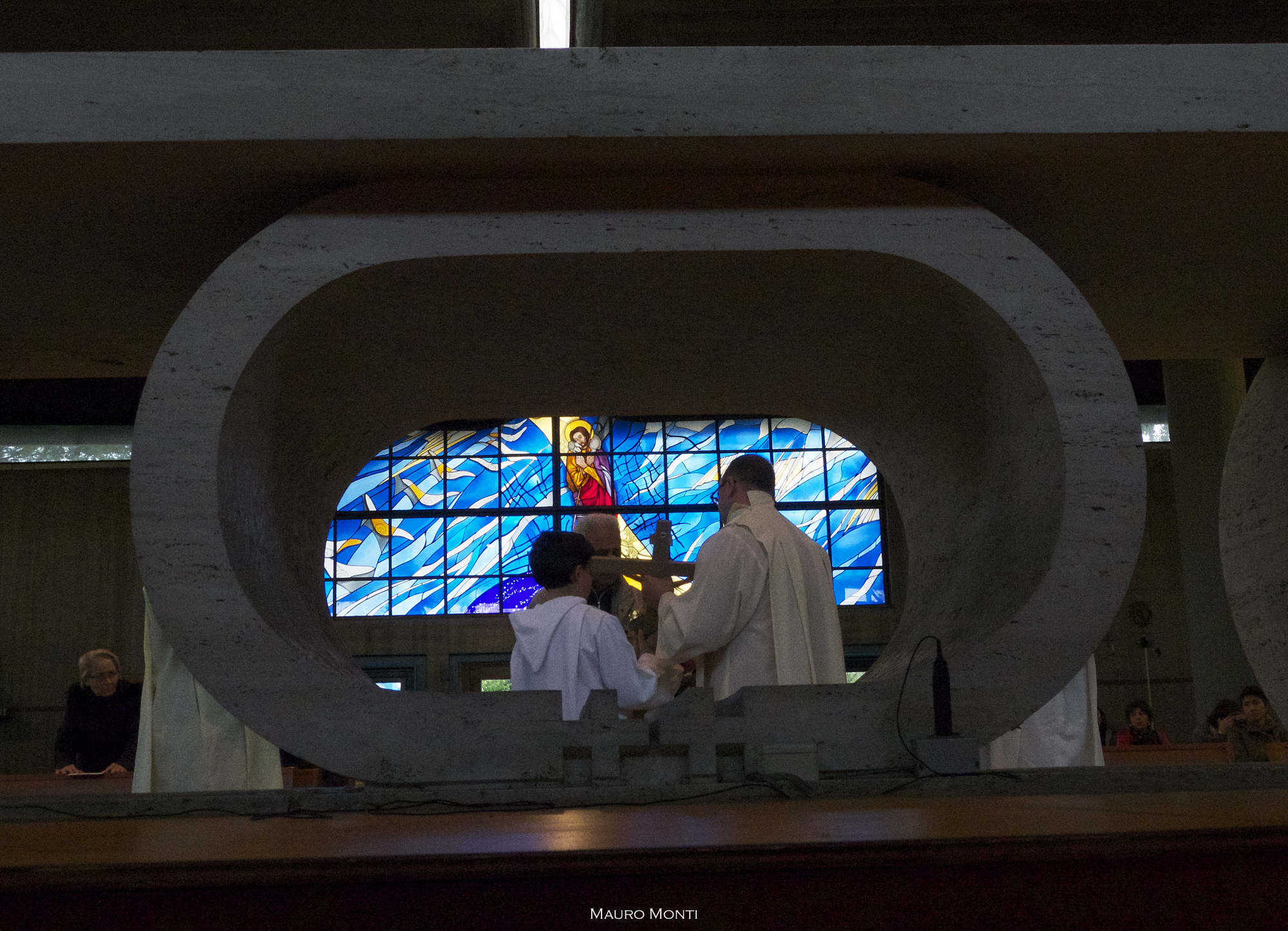 Adorazione della Croce, San Paolo della Croce a Corviale