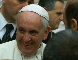 Papa Francesco - Udienza a Tv2000