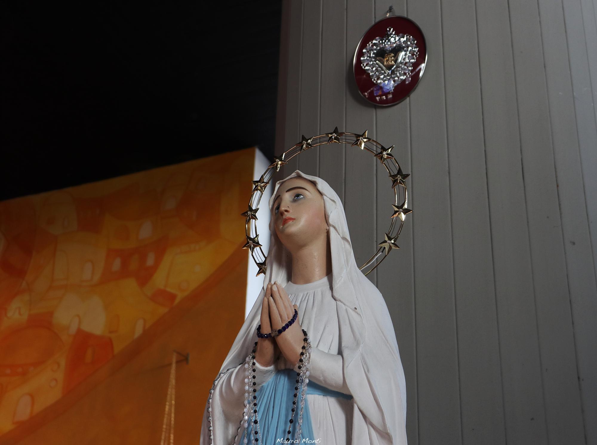 Beata Vergine Maria, Corviale - Photo Mauro Monti