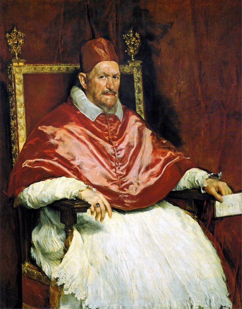 Ritratto di Innocenzo X - Velázquez