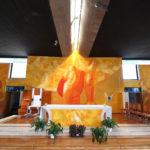 Padre Marko Rupnik, due nuove opere d'arte per la chiesa di Corviale