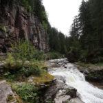 La gola di Predazzo, un canyon di porfido