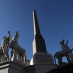 Quirinale, la fontana dei Dioscuri