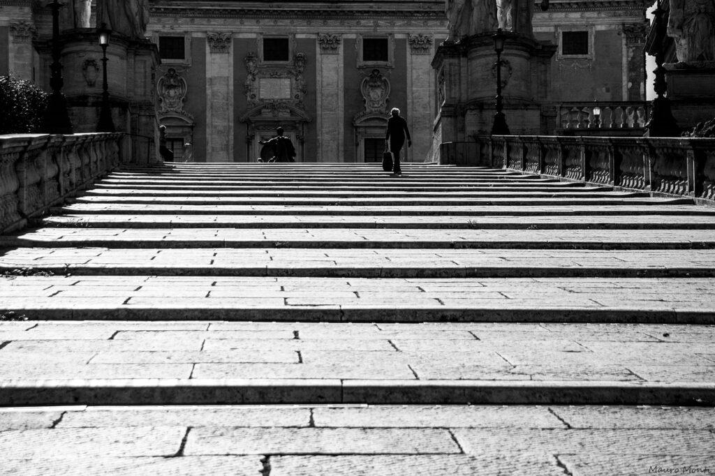 Cordonata Capitolina - (c) Foto Mauro Monti