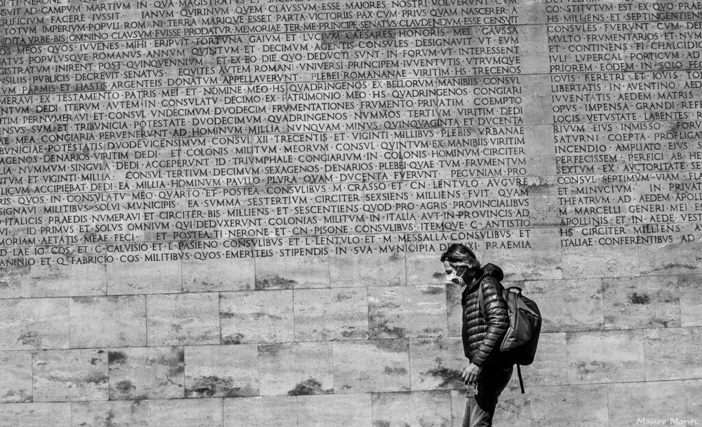 Res Gestae Divi Augusti - Ara Pacis - Foto Mauro Monti