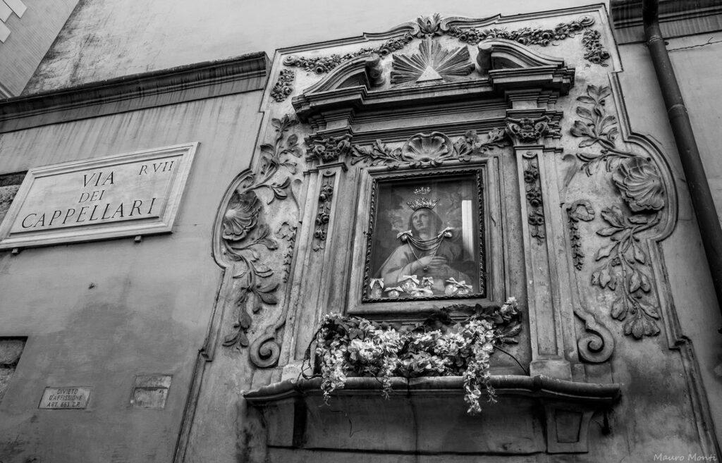 Via dei Cappellari - (c) Foto Mauro Monti
