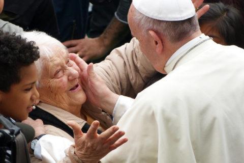 Papa Francesco alla parrocchia di San Paolo della Croce a Corviale